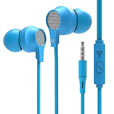Super me, in-Ear Headphones Bass Earbuds with M...