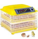 LYC Automático Incubadora De Huevos 96 Huevos Hatcher Digital 12V 220V Criadero Máquina Poultry Incubator Equipo para Pollo Ganso Pato