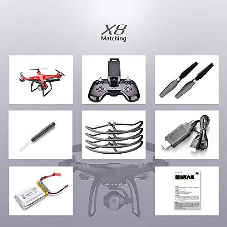 X8 2.4G 22 Mins Flight 720P Camera Altitude Hold Headless Mode RC Quadcopter rot