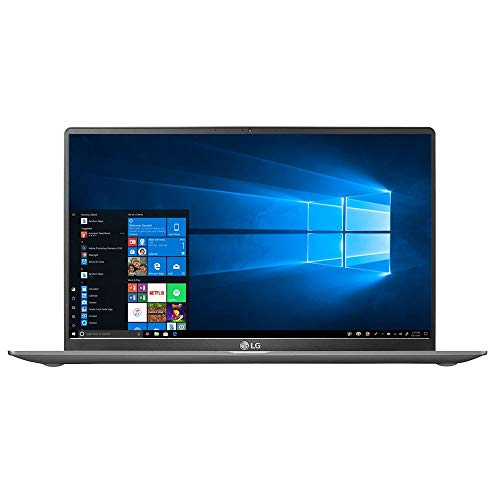 LG Gram Laptop: 10th Gen Core i7-1065G7, 16GB RAM, 512GB SSD, 15.6' Full HD Touchscreen IPS, 18.5 Hours Battery, Thunderbolt 3 - 15Z90N (2020)