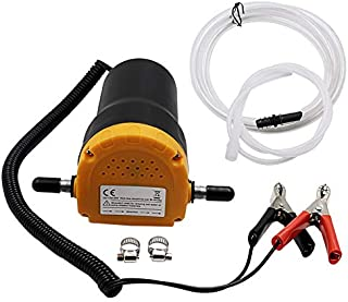 Wxnnx Electric Fuel Pump,Portable ElectricTransfer Pump with Hose, Diesel Fuel Transfer Pump