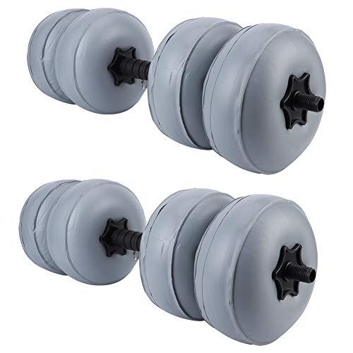 Da Dini 30-35kg Hantel Wassergefüllter Kettlebell Für Bauchausbildung Mann Inland Fitnessgeräte Arm Muskeln Grau