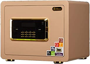 Security Safe Box, Safe Cabinet Safes, with LCD Display and Dual Alarm System Safe Deposit Box, for Home Storage Jewelry, ...