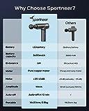 Zoom IMG-2 pistola per massaggio muscolare sportneer