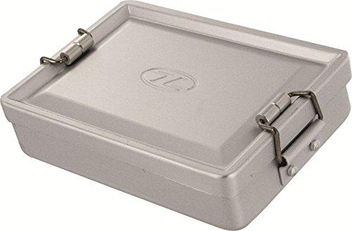 Highlander doos aluminium box universeel, 14 x 9,5 x 3,5 cm, SUR005