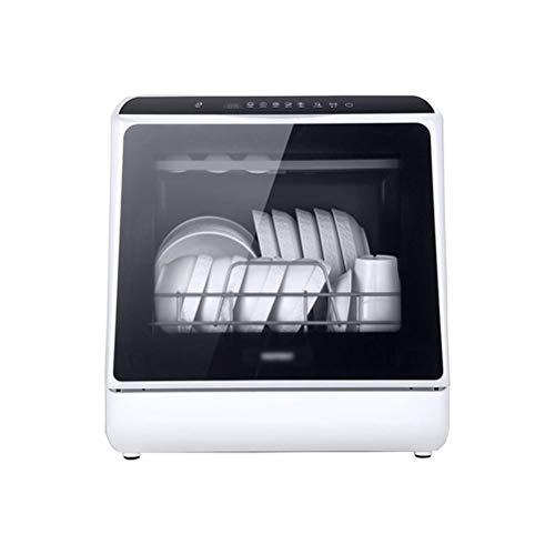SMLZV Lavavajillas, Compacta encimera lavavajillas, superior e inferior de plato doble de cestas, for los platos de cocina cuencos Gafas 72 horas de circulación del viento antibacteriano, con 5 litros