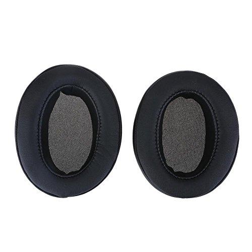 Prettygood7 vervangende oorkussens hoofdband kussen voor Sennheiser Momentum 2.0 draadloze hoofdtelefoon Zwart