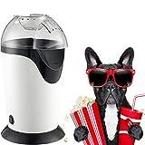 KUANDARM Elettrico Hot Air Popcorn Popper Maker per La Casa,Fai da Te Il Tuo Gusto,Healthy...
