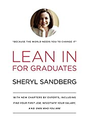 ted talks for women in their 20 s - Book reading Lean in for graduates by Sheryl Sandberg