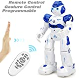 NEWYANG Smart Robot Toy, Smart Bot,Remote and Hand Signal Control,Charges with USB Cable,Programmable