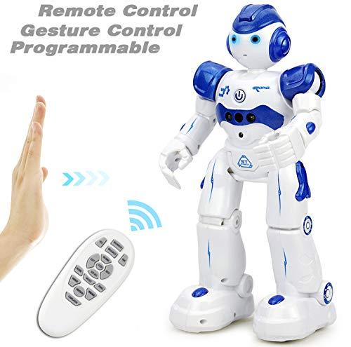 petit un compact NEWYANG Jouets robotiques intelligents, contrôle à distance et manuel du signal, chargement…