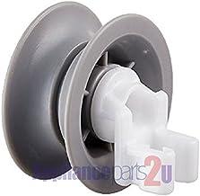 (8 Pack) 00611666 Genuine BOSCH OEM Dishwasher Rack Wheel Replaces 611666, AP4355370, PS8727423
