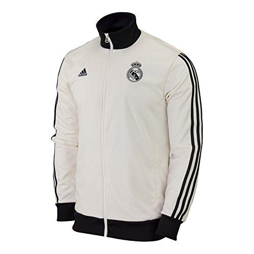 Adidas Real Madrid CF CO TRK TOP [CWHITE/BLACK] (Medium)