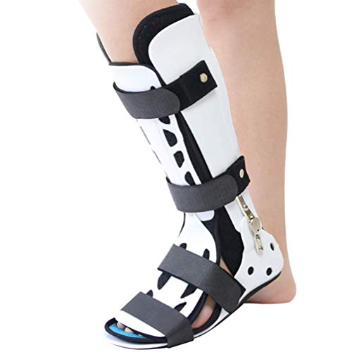 Ortesis de pie Ankle Braces,Adjustable Angle Fracture Walker Boot - Ideal For Stable Foot and Ankle Fracture, Achilles Tendon Surgery, Ankle Sprains Walker Brace Protector,Leftfoot,L