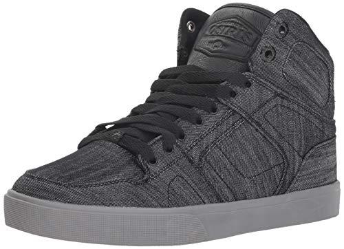 Osiris Men's NYC 83 VLC DCN Skate Shoe, Black/Denim/Grey, 7