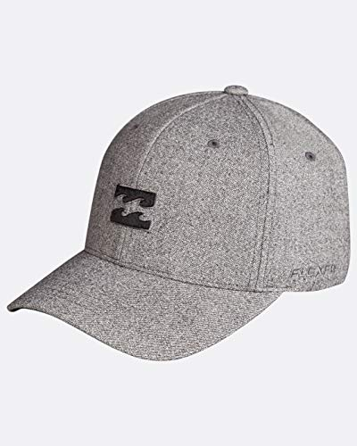 BILLABONG All Day Flexfit Caps, Hombre, Silver, U