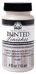 top rated Folk art paint finish (4 oz), burnwood wax 2021