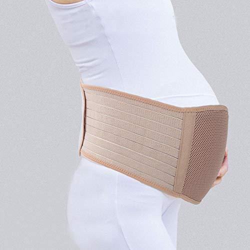 minifinker Cinturón de Vientre Ajustable, Suave y Transpirable, para aliviar la incomodidad(Khaki)