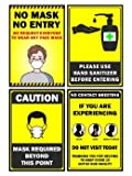 First Art Wall Paper Poster Full Size 12x 18 Safety Sign Notice Warning