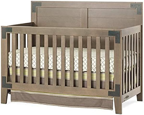 Child Craft Lucas 4 In 1 Convertible Crib Dusty Heather