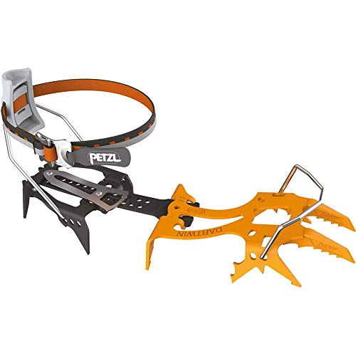 PETZL - Dart, Ultralight Mono-Point Crampons for Ice Climbing and Dry Tooling