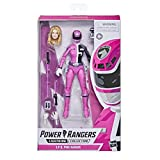 Figura de acción Coleccionable Premium de 15 cm de Ranger Rosa de S.P.D. de Power Rangers Lightning Collection con Accesorios