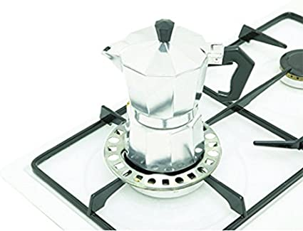 KitchenCraft Anillo Reductor para Cocina de Gas, Acero Galvanizado, 12 cm