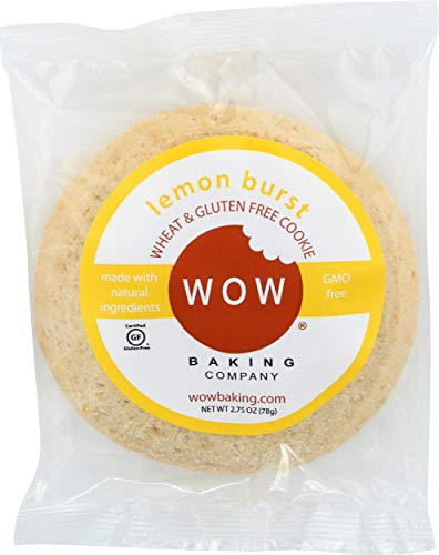WOW Baking Company Gluten Free Cookies, Lemon Burst, 8 oz