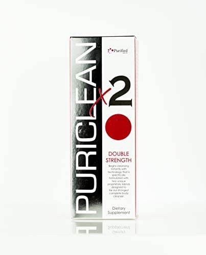 Puriclean x2 Same Day Detox Double Strength Cleansing Quick Flush Potent Deep System Cleanser product image