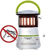 Fotocatalizador mudo Lámpara electrónica mosquitos Antimosquitos Trampa Moscas Insectos Mata con Luz Interior Sin Productos Químicos Mujeres Embarazadas para interiores al aire libre Sin radiación