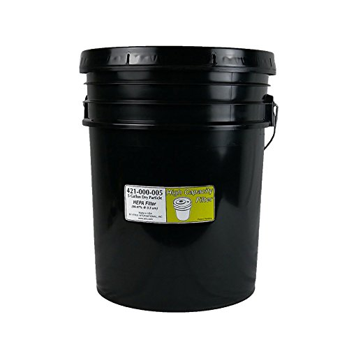 Atrix - 421-000-005 5-Gallon HEPA Bucket Replacement Filter for ATIHCTV5 and ATIHCTV5CT Bucket Style Vacuum