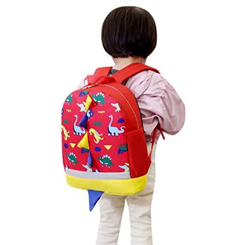 Kinderrucksack Motiv Drache, Animal Schule Tasche Rucksack for Kinder Baby Jungen Mädchen Kleinkind Mini Rucksack für Mädchen und Jungen TWBB