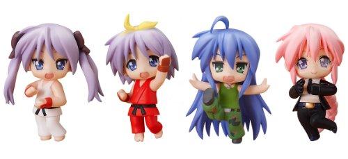 Nendoroid: Petite Lucky Star X Street Fighter Set PVC figurine