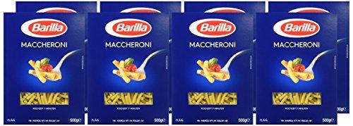 Barilla Hartweizen Pasta Maccheroni n. 44 – 8er Pack (8x500g) - 6
