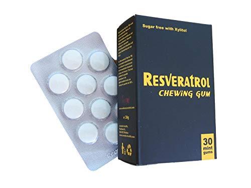 Unico al mondo! Gomma da masticare antiossidante resveratrolo con 25mg di reseriatrolo Veri-te ™. Innovazione e qualità svizzer