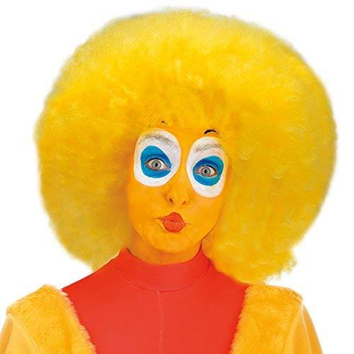 Chicken Duck Yellow Wig Afro