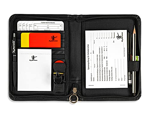 MyReferee Schiedsrichterset Original Fußball inkl. Spielnotizkarten, Kugelschreiber, Pfeife UVM.   Schiedsrichter-Set   Schiri