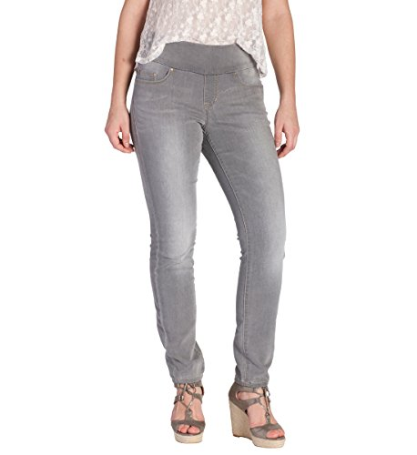 Jag Jeans Women's Nora Knit Pull On Skinny Fit Jean, Antique Tin, 14