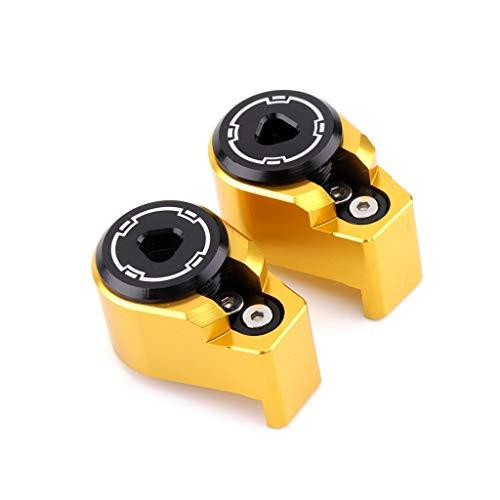 CHENWEI- Amortiguador antirrobo protección contra el Robo de Bloqueo Deco for Yamaha (Color : Gold)