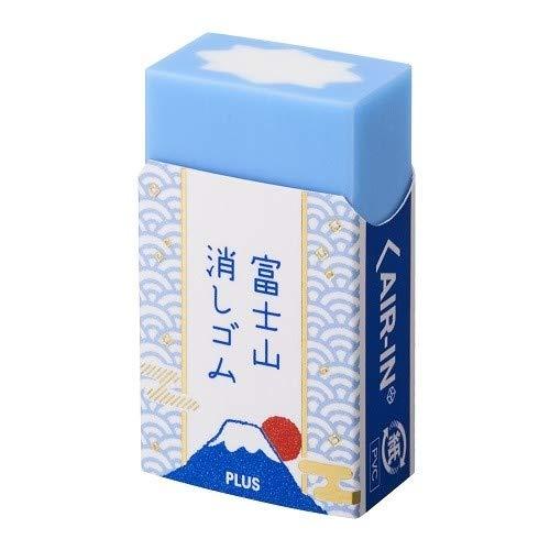 プラス 消しゴム エアイン 富士山消しゴム 青 アソート