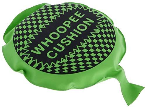 Jilibaba Cushion Prank Fart Joke Party Bag Whoopie Balloon Gag Toy Gift Green Color Random 1 Pc