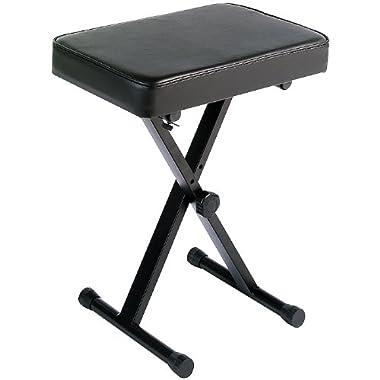 Yamaha PKBB1 Adjustable Padded Keyboard X-Style Bench, black
