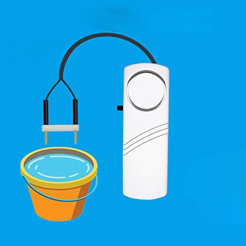 XZHFC Detector De Fugas De Agua De Alarma Inicio Detector De Sensor De Fugas De Agua Independiente Alerta De Inundación Sistema De Alarma De Seguridad De Seguridad 1PCS-20 Meter