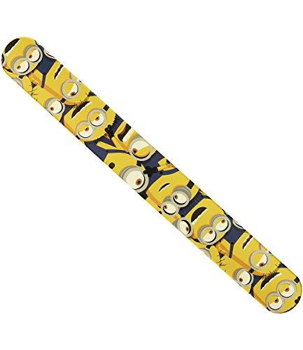 SIX Click-Clack-Armband mit Minions-Motiven gelb (294-940)