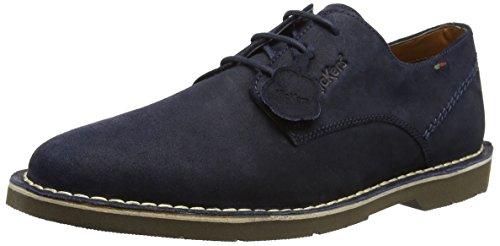 Kickers Kanning Lace, Zapatos de Cordones Derby Hombre, Azul (Dark Blue Dark Blue), 43