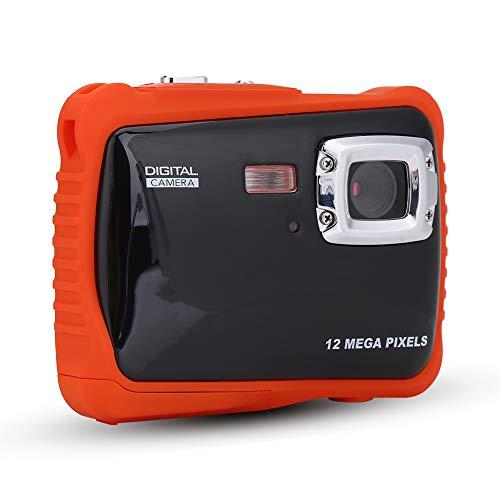 Videocámara subacuática, cámara Impermeable para niños, Regalo de Juguete Duradero de Alta definición Lindo para niños niñas