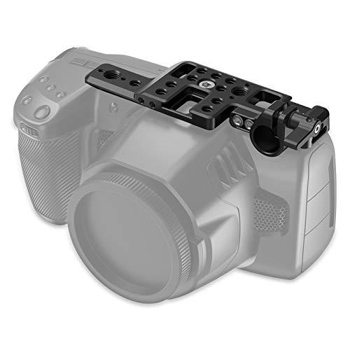 SMALLRIG Lightweight Top Plate para BMPCC 4K & 6K Camera, Placa Superior para Camara Blackmagic Pocket Cinema 4K y 6K - APT2510