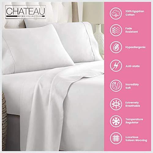 Chateau Home Premium Egyptian Cotton Sheets
