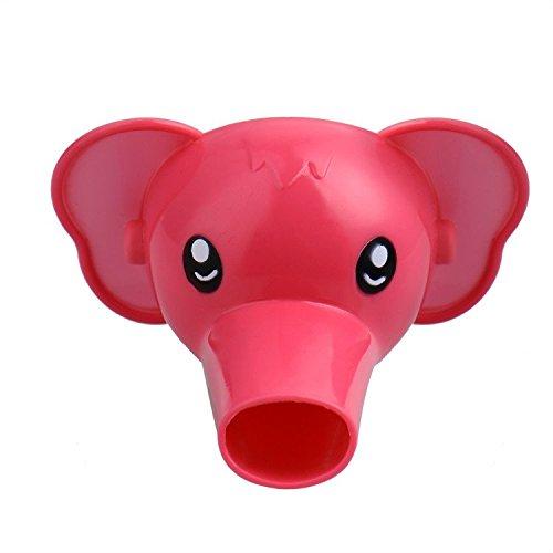 1pièce Plastique robinet d'eau Robinet Extender Forme animaux de dessin animé pour enfants pour tout-petits enfants à la main