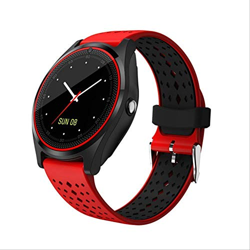 Bluetooth Smart Watch V9 Sport Horloge Stappenteller Met Sim Tf Smartwatch Voor Android